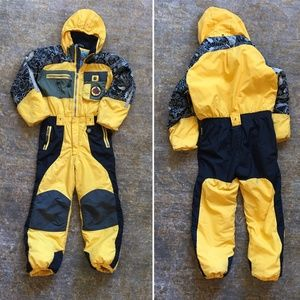 Obermeyer Expidition Yellow Ski Suit (7)
